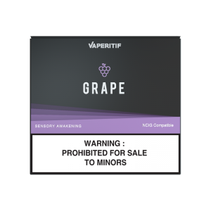 "Grape <br/> <span style=""font-size:15px"">( Zero-Nicotine for Malaysia Market Only )</span>"