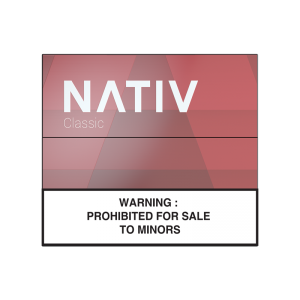"NATIV Classic <br/> <span style=""font-size:15px"">( Zero-Nicotine for Malaysia Market Only )</span>"